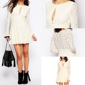 free people teen witch lace keyhole festival bell