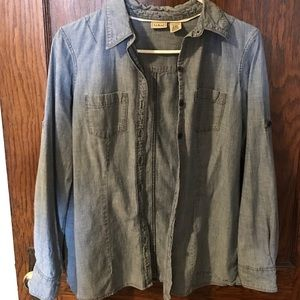 LLBean chambray shirt