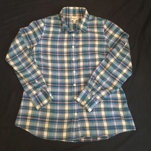 J. Crew Perfect Shirt in Flannel