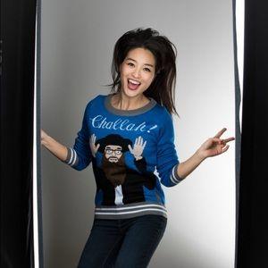"Sweaters - Super cute ""challah"" sweater"