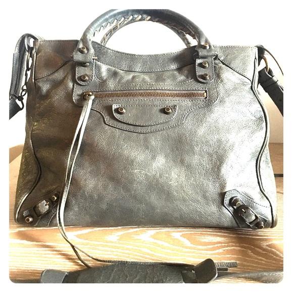 3db5125f44 Balenciaga Handbags - Authentic Balenciaga Giant 12 Velo Bag in Ardoise