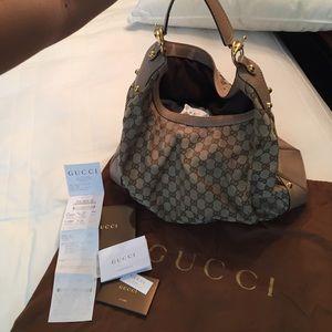 100% Authentic Gucci Hobo