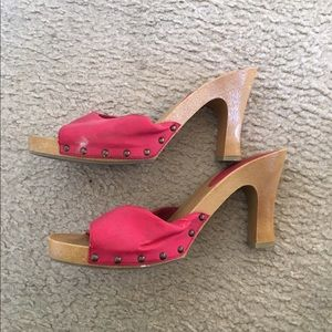80% off Candie's Shoes - Red Candies Slides Size 10 from Katrina's ...
