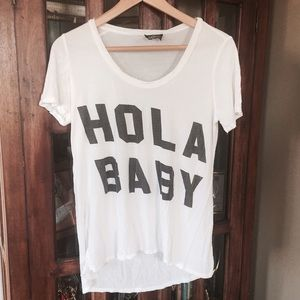 Urban Outfitters Tops - Hola Baby Tee