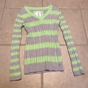 Justice Other - Justice v neck girls sweater size 8
