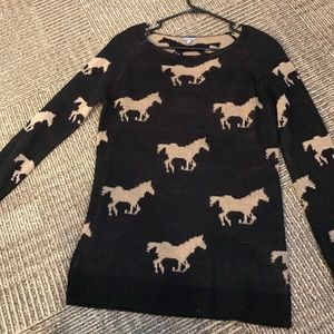 Charlotte Russe Sweaters - Horse Sweater