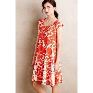 Summertide swing dress anthropologie free