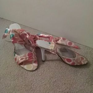 "Amanda Smith Shoes - Brand new Amanda Smith""Chablis"" sandal/heel"