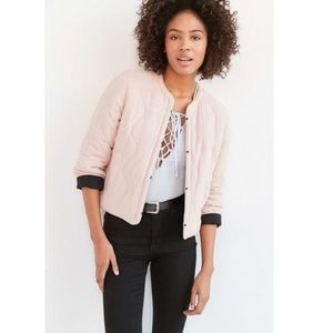 HP💕 NWT Kimchi Blue pink black puffer coat jacket