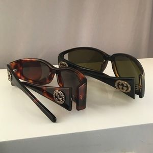 Gucci Accessories - 2 Gucci Sunglasses GG 2526 GG 2989 Crystals