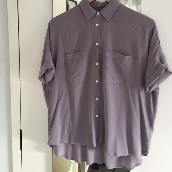 c7f46d599084c Madewell Tops - Madewell Silk Courier Shirt
