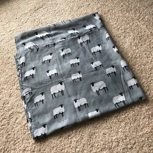 Grey Infinity Sheep Scarf