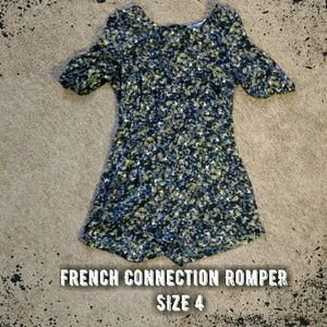 French Connection Pants - {French Connection} Floral Romper