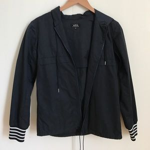 A.P.C. Jackets & Blazers - A.P.C. summer jacket with hood (XS)