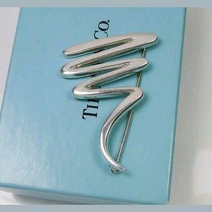 Tiffany & Co. Jewelry - Tiffany & Co Paloma Picasso zigzag brooch