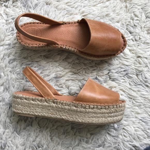 ae5e28e325f Alohas Sandals leather camel espadrilles sandal