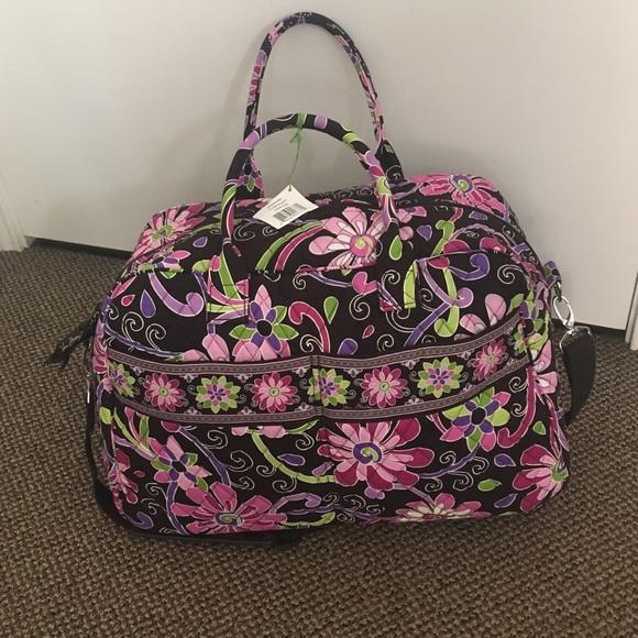 Vera Bradley Bags   Weekend In Purple Punch   Poshmark f37f000e2a