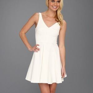 ABS Allen Schwartz Dresses & Skirts - HP ✨ NWT ABS White Fit and Flare Dress