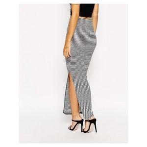 Lipsy London Dresses & Skirts - Lipsy London Striped Maxi Skirt