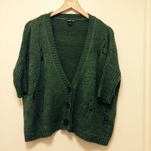 Audrey Ann Sweaters - Green sweater top