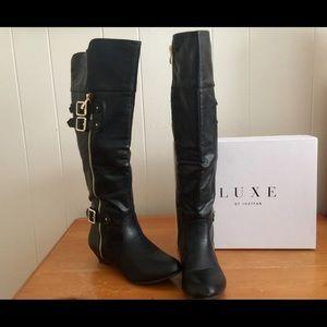 JustFab black boots
