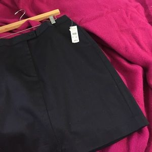 NWT navy blue talbots skirt