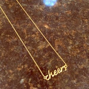🎉SALE🎉 Kate Spade Bespoke Cheers Necklace