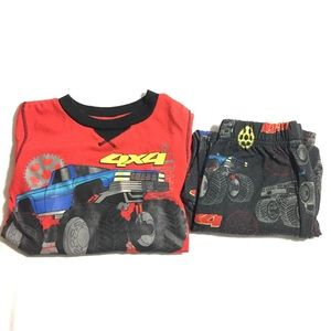 Other - Boy's monster truck pajama set