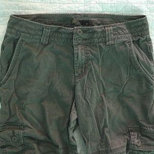 Prana Pants - Prana Brown Cargo Capris, cropped hiking pants 8