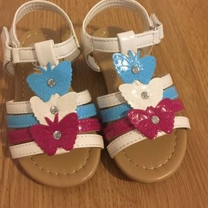 Amy Coe Other - Blue pink white toddler size 6 sandals