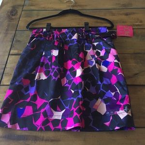H&M Elle pick satin skirt