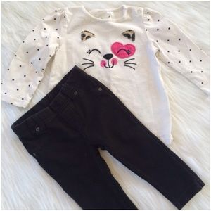 Other - 🅾 4/$20 🅾 Adorable Girls Kitty Outfit