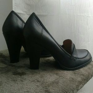 Guess Shoes - Guess Black Pumps Leather Heels Size 8.5
