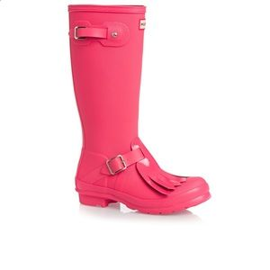 Hunter Boots Other - Hunter Original Kids Tex Fringe Rain Boots