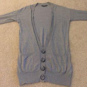 Dorothy Perkins Sweaters - Dorothy Perkins Long deep V neck Cardigan
