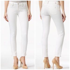 DL1961 Denim - DL1961 White Angel Skinny Ankle Jeans