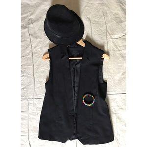 Cynthia Rowley Tuxedo Vest