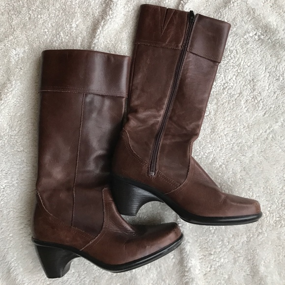 Dansko Leather Risa Tall Boots Size 37
