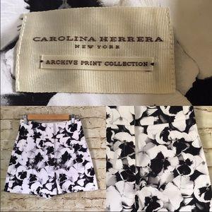 Carolina Herrera Pants - Carolina Herrera Archive Collection Pansies Shorts