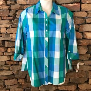 Allison Daley Tops - NWT Allison Daley Buttoned Shirt