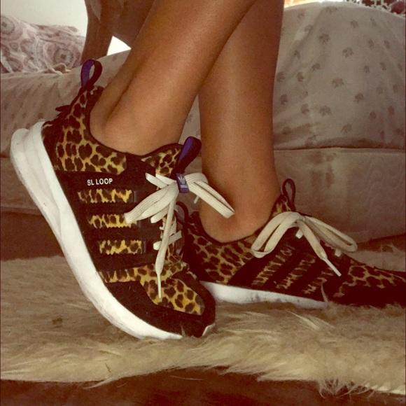 Sko Sloop Adidas Poshmark Cheetah Cheetah Cheetah Print Running dHvxq76v ed0e88