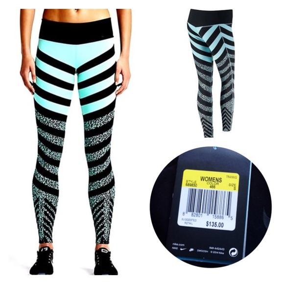 🆕Nike Legendary Mezzo Zebra leggings NEW WITH TAG 3c2232d61e