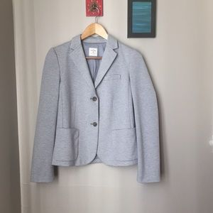 GAP Jackets & Blazers - Gap The Academy Blue & White Stripped Blazer