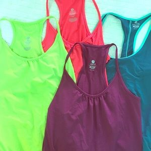 Old Navy Tops - Lot of 4 workout tank tops, running tanks