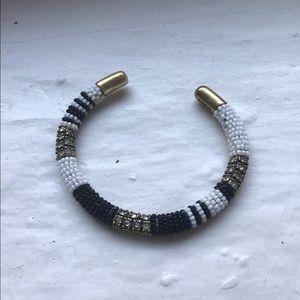 J.Crew Beaded Cuff Bracelet