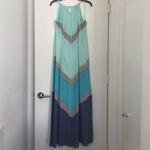 She & Sky maxi gown