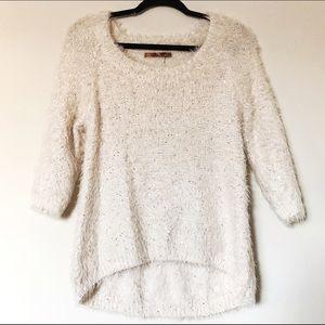 Belldini Sweaters - Fuzzy Sequin Sweater