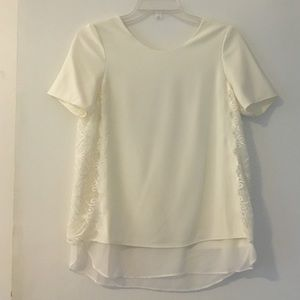 Top with side lace detail