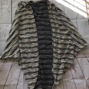 Michael Lauren open cardigan duster one size
