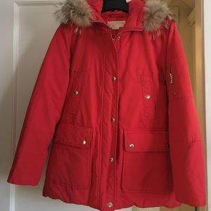 Michael Michael Kors Hooded Down Jacket